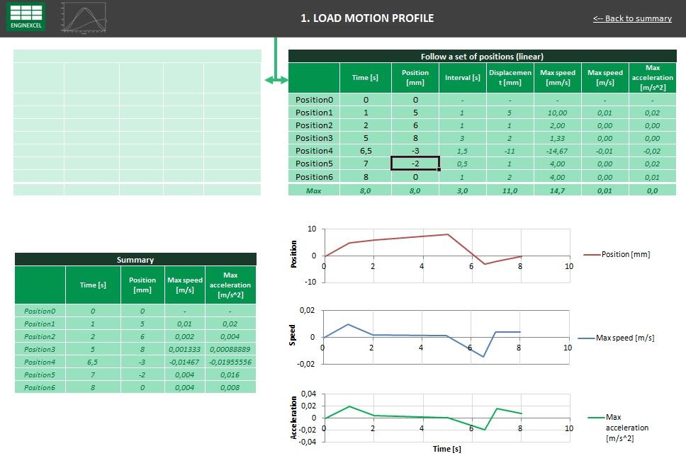 EnginExcel mechanical design spreadsheets